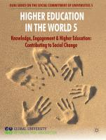 GUNi - Higher Education in the World 5